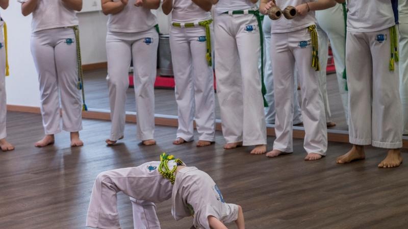 Festival de capoeira pour «kids»