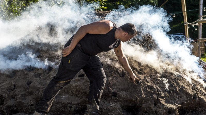 La meule de charbon de Bevaix, du 11 au 21 juin, a connu un immense succès populaire