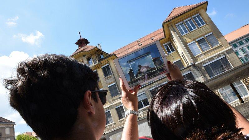 La Chaux-de-Fonds: promenade horlogère connectée