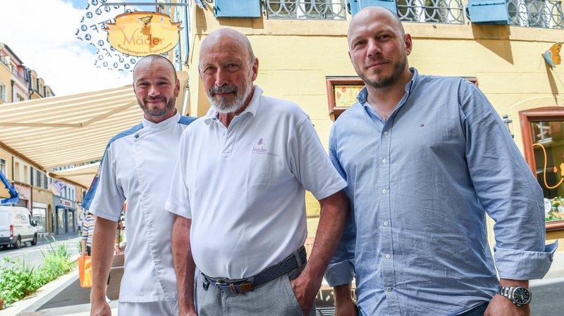 Neuchâtel: les fils Mäder reprennent la boulangerie familiale