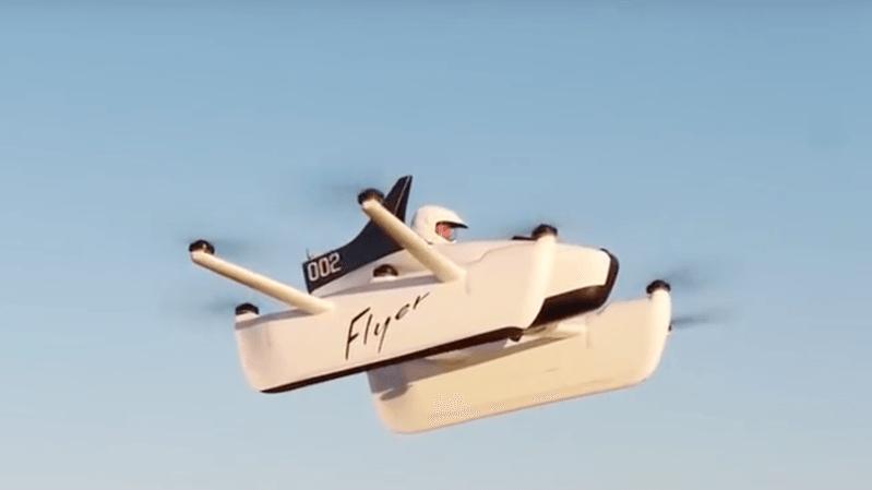 """États-Unis: le fondateur de Google a pré-commandé sa """"voiture volante"""""""