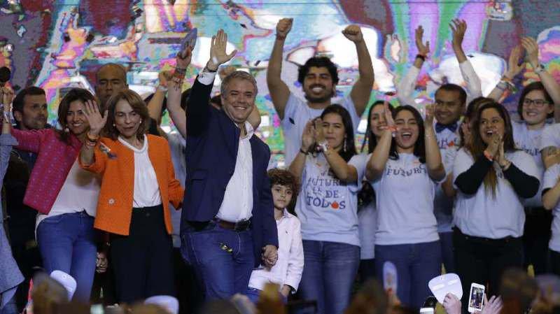 Ivan Duque a remporté ce dimanche les élections colombiennes.