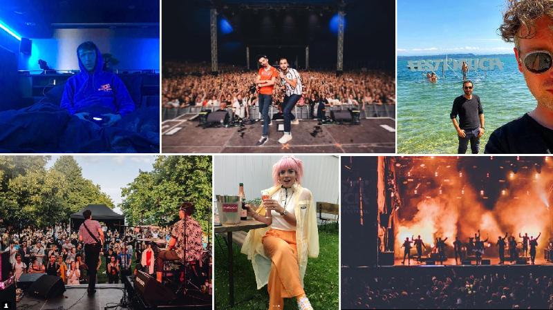 Les artistes racontent leur Festi'neuch sur le web