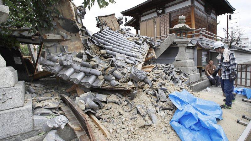 Japon: un séisme de magnitude 6,1 fait au moins 3 morts dans l'ouest du pays