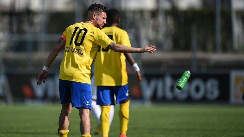 Fabio Lo Vacco et le FCC ont subi la loi du Stade Nyonnais lors de la dernière journée de championnat de Promotion League.