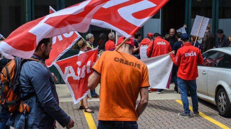 Le syndicat Unia a décerné la palme de l'inégalité pour le salaire d'une femme à 2000 francs