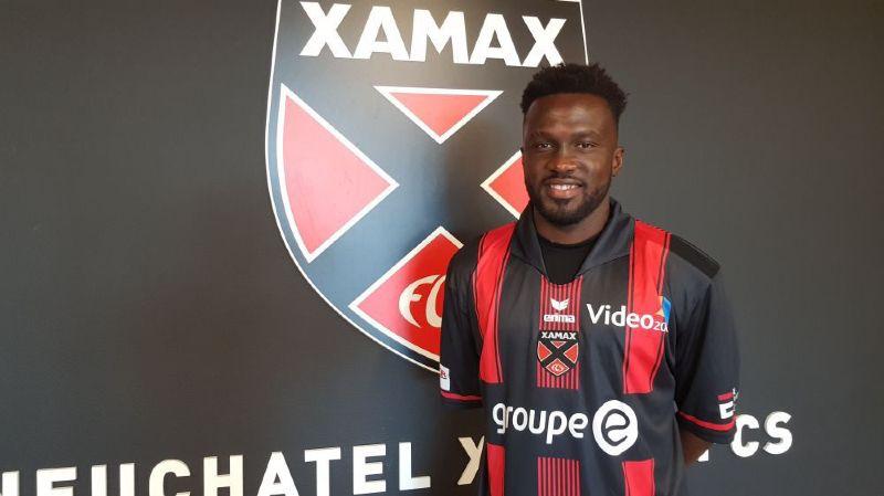 Hamed Koné a signé pour un an avec le club de la Maladière.