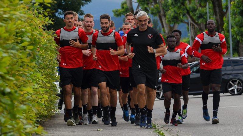 Les Xamaxiens ne devront pas se contenter de courir. ils pourront disputer un match amical jeudi.