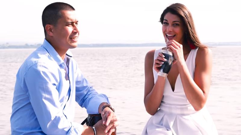 La Chaux-de-Fonnière Yasmina Assal a pris part au clip de Nucho Duarte.