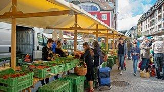 Un sondage express montre que les commerçants concernés sont contre le déménagement du marché à la Carmagnole
