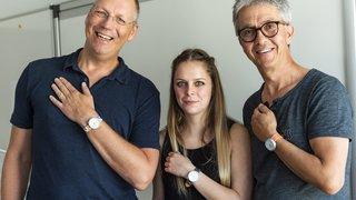 Elle obtient son bachelor en design grâce à une montre en faveur des clowns de Théodora