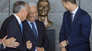 Football: le buste peu flatteur de Ronaldo à l'aéroport de Madère remplacé en catimini