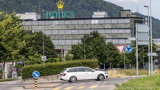 Bienne: 400 employés évacués après une fuite de gaz dans l'usine Rolex