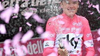 Tour d'Italie: Chris Froome remporte son premier Giro sur les Forums impériaux de Rome
