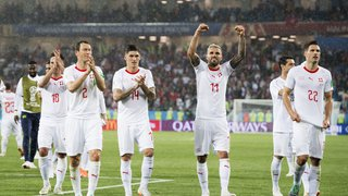 Coupe du monde 2018: la Suisse s'impose sur le fil face à la Serbie et prend une sérieuse option pour les huitèmes de finale
