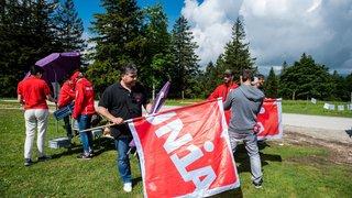 Rebelote syndicale au Creux-du-Van