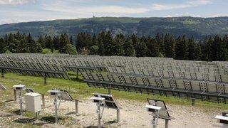 L'EPFL tiendra école à la centrale solaire