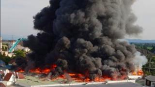 Allemagne: important incendie à Europapark