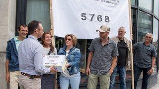 La Chaux-de-Fonds: plus de 5000 signatures pour que le marché reste sur la place qui porte son nom