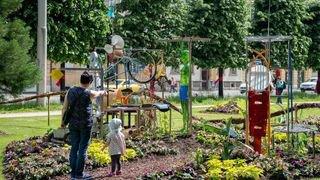 Neuchâtel: quand la récup devient art