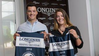 Mélanie et Loïc Meillard, deux jeunes champions qui attendent leur heure