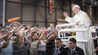 Ces Neuchâtelois à la messe du pape