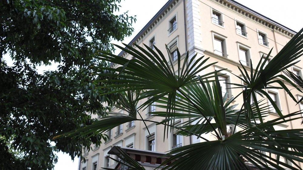 L'ancien Hôtel des impôts va accueillir 19 appartement et des locaux administratifs, à Neuchâtel.