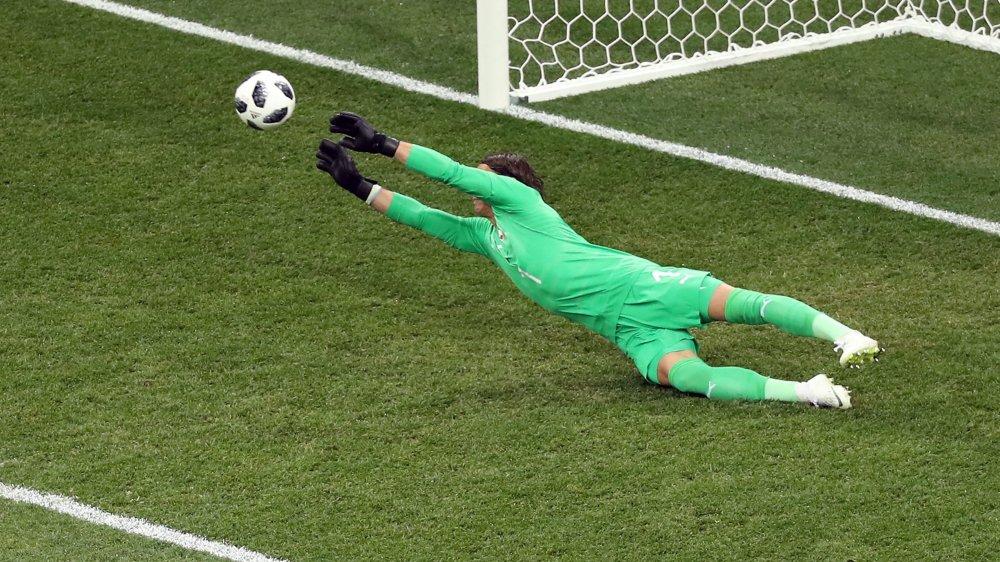 Irréprochable malgré quatre buts reçus, Yann Sommer est au sommet de son art.