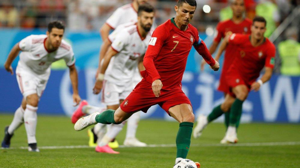 Cristiano Ronaldo n'a jamais marqué dans un match à élimination directe en Coupe du monde.
