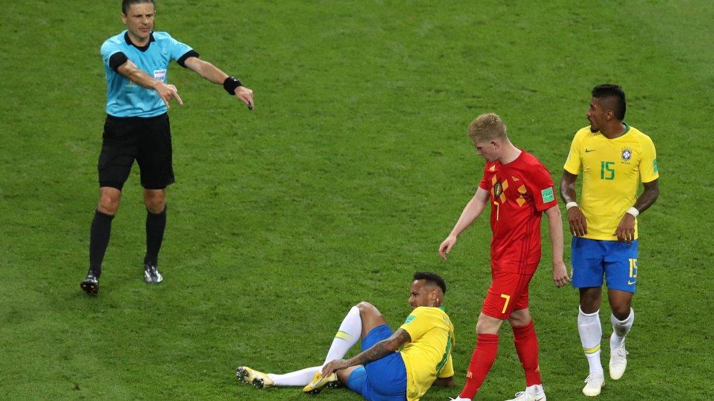 Neymar a bien tenté de porter la Seleçao, mais il a dû s'avouer vaincu face au talent collectif de Kevin De Bruyne et Cie.