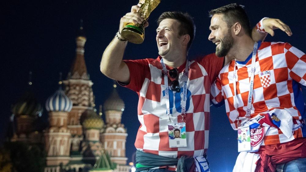 Les Croates, tant les footballeurs que leurs concitoyens, entreront-ils dans l'Histoire demain?