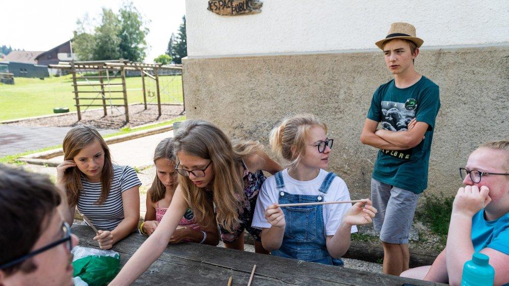 Camp musical à La Chaux-du-Milieu