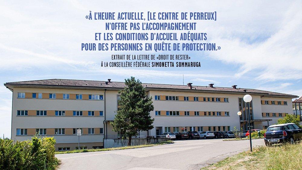 Asile: Centre de requerants d'asile de Perreux. La Confederation veut faire de Perreux son premier centre d'accueil en Suisse romande pour les requerants d'asile  Perreux, le 20 juillet 2015 Photo: Lucas Vuitel