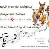 Harmonie avec les animaux - Fête Fondation Anna Evans