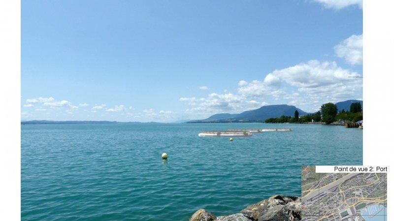 Les îles solaires ne fleuriront pas sur le lac de Neuchâtel.