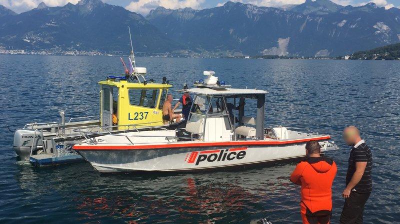 St-Gingolph: une personne décède suite au chavirement d'un bateau près d'un ponton