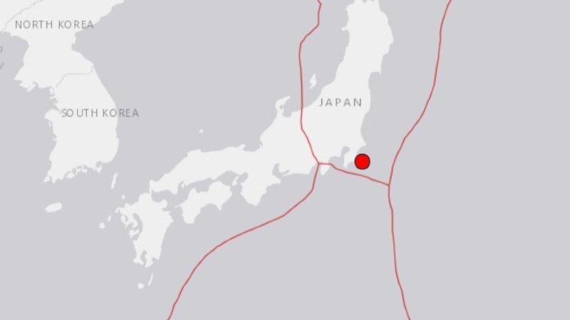 Séisme de magnitude 5,9 près de Tokyo, pas de risque de tsunami