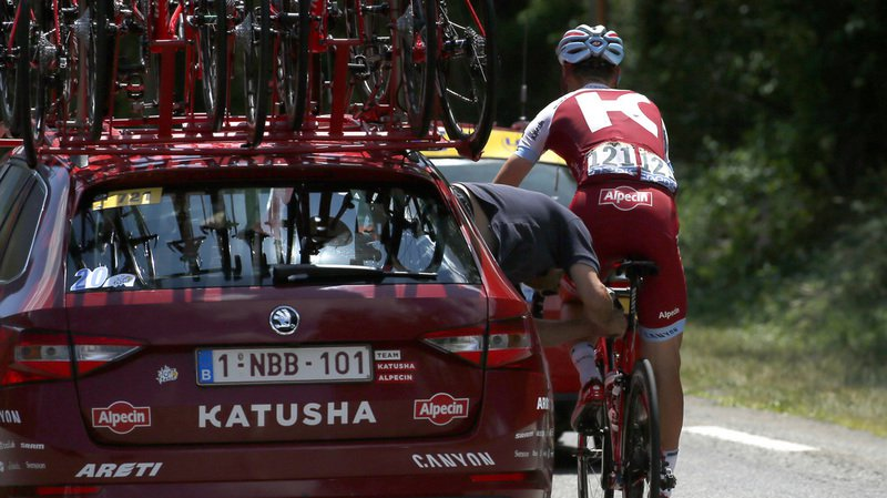 Tour de France: l'Allemand Tony Martin forcé d'abandonner à cause d'un tassement à une vertèbre