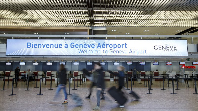 Trafic aérien: l'aéroport de Genève retrouve son rythme de croisière après les violents orages de vendredi