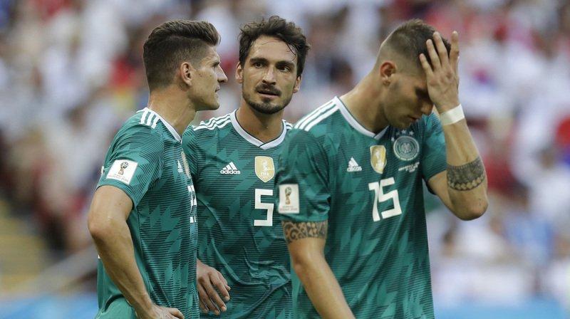 Coupe du monde 2018: l'Allemagne éliminée!