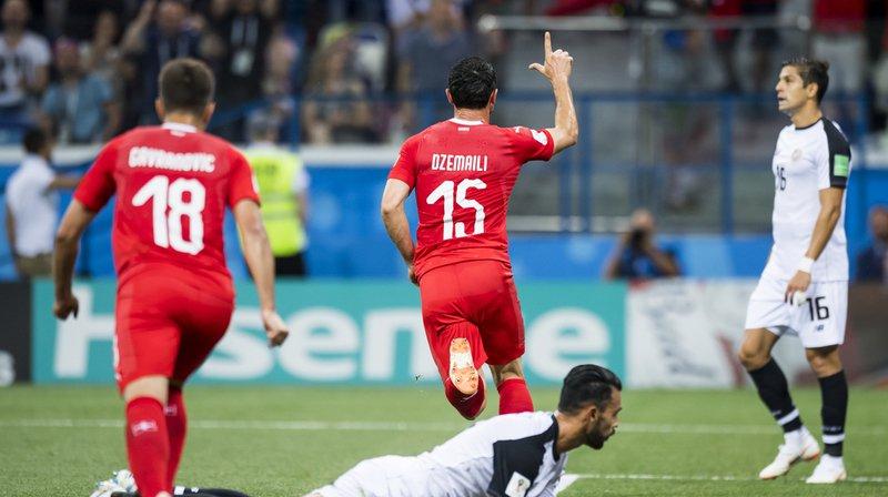 Coupe du monde 2018: la Suisse obtient le match nul et se qualifie pour les huitèmes de finale