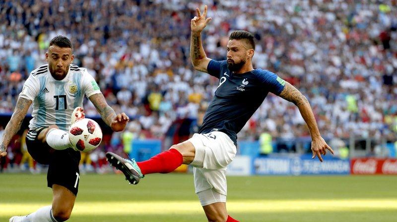 Coupe du monde 2018: la France bat l'Argentine et se qualifie pour les quarts de finale
