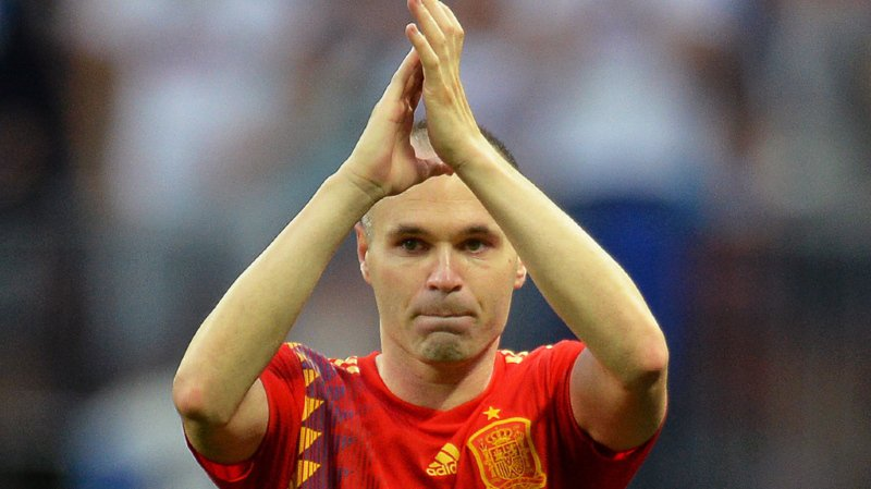 Le dernier geste d'Iniesta a été un but victorieux dans la séance de tirs aux buts contre la Russie.