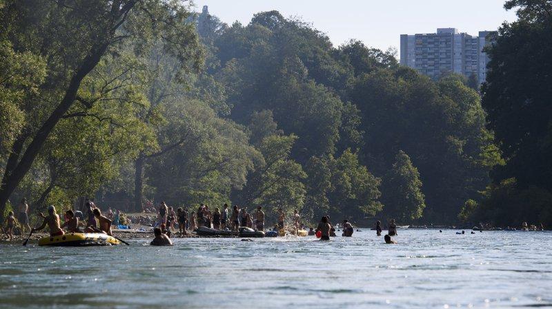 Accident de baignade: une nageuse disparue dans l'Aar