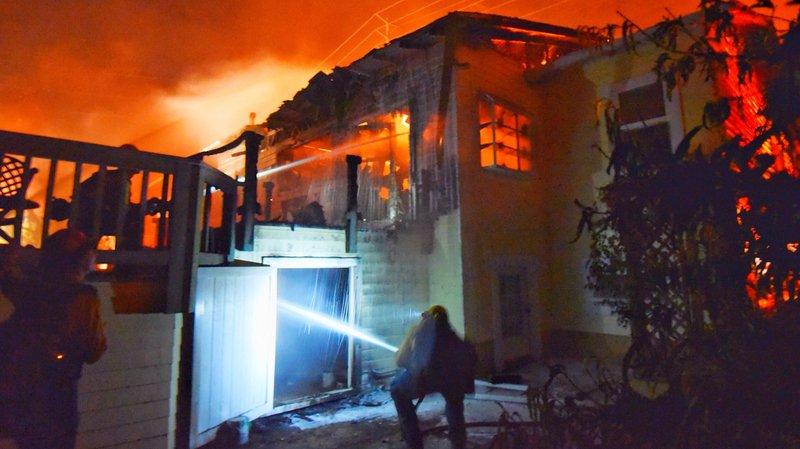 Feux en Californie: des milliers d'habitants évacués