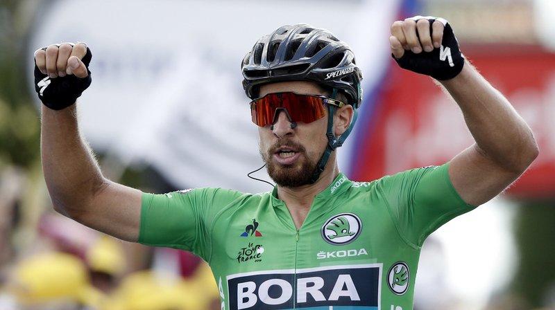 Deuxième succès pour Peter Sagan sur ce Tour de France.