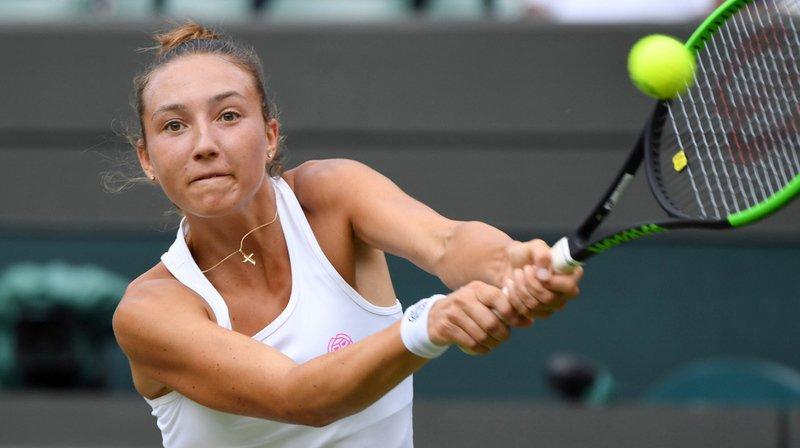 Tennis - Wimbledon: pas de titre en juniors pour Leonie Küng