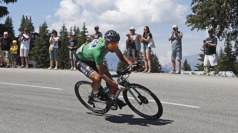 Cyclisme - Tour de France: Sagan gagne la 13e étape au sprint, Geraint reste leader