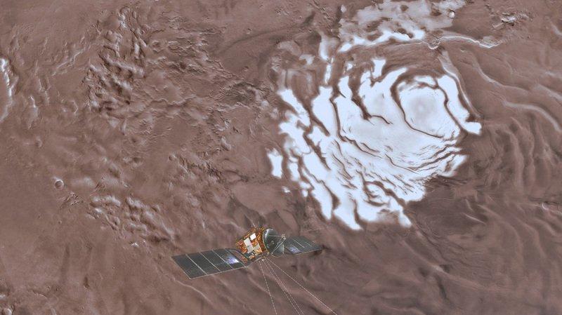Astronomie: un vaste lac souterrain a été découvert sur Mars, une condition au développement de la vie