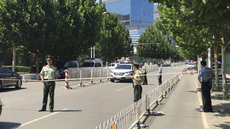 Chine: explosion devant l'ambassade américaine à Pékin